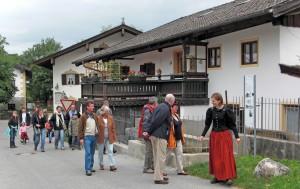 Nußdorfer Mühlenführung mit Judith