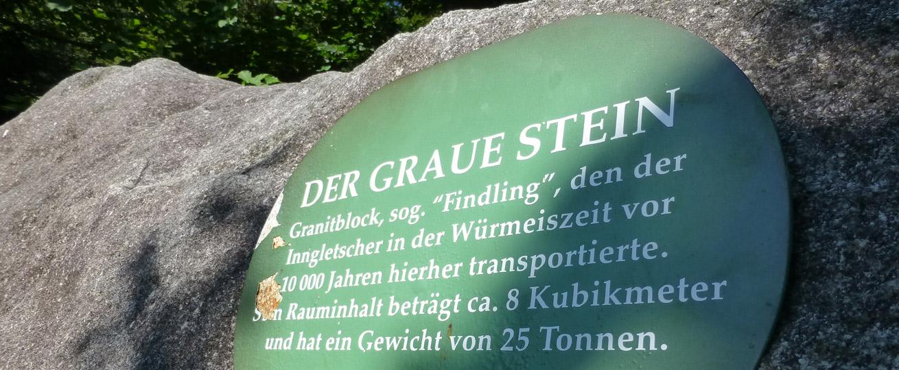 Der Graue Stein - Oberaudorf