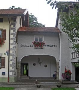 Elektrizitätswerk Adamer in Nußdorf