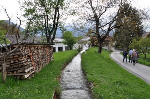 Spaziergang am Mühlenkanal