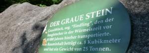 Der Graue Stein in Oberaudorf