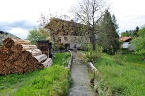 Der Mühlenkanal in Nußdorf