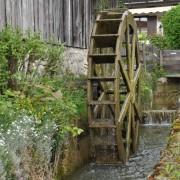 Wasserrad in Nußdorf am Inn