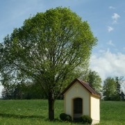 die Kapelle im Ortsteil Geiging