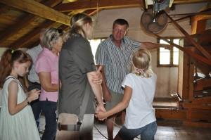 Mühlenführung in der Wachinger Naturkostmühle in Neubeuern