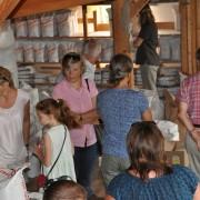 Mühlenführung in der Wachinger Naturkostmühle